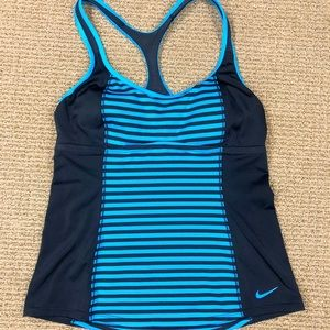 Nike athletic tank with built in sports bra